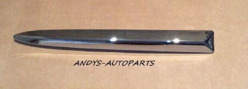 FIAT 500 2008 ONWARDS CHROME FRONT BUMPER MOLDING. DRIVER ( R/H ) OR PASSENGER ( L/H )